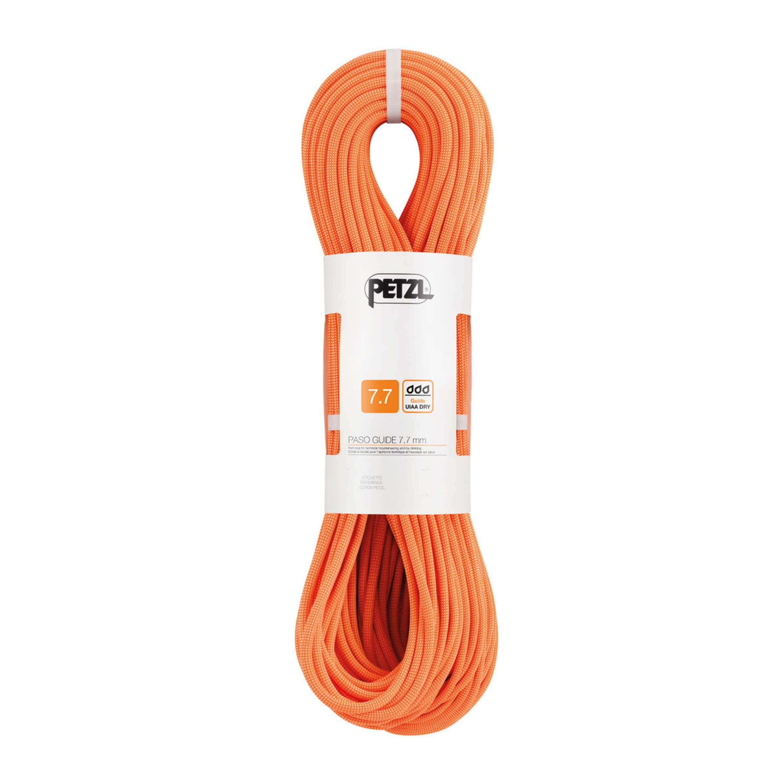 Petzl PASO GUIDE 7,7mm x 50m Seil