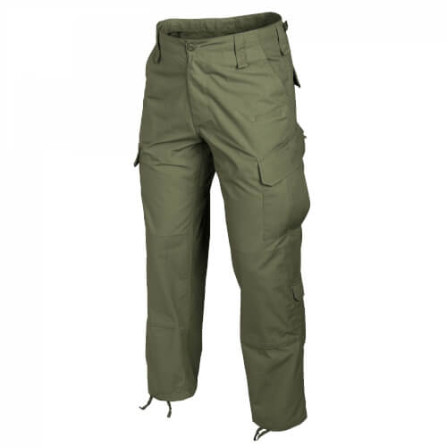 Helikon-Tex CPU Pants - PolyCotton Ripstop olive green