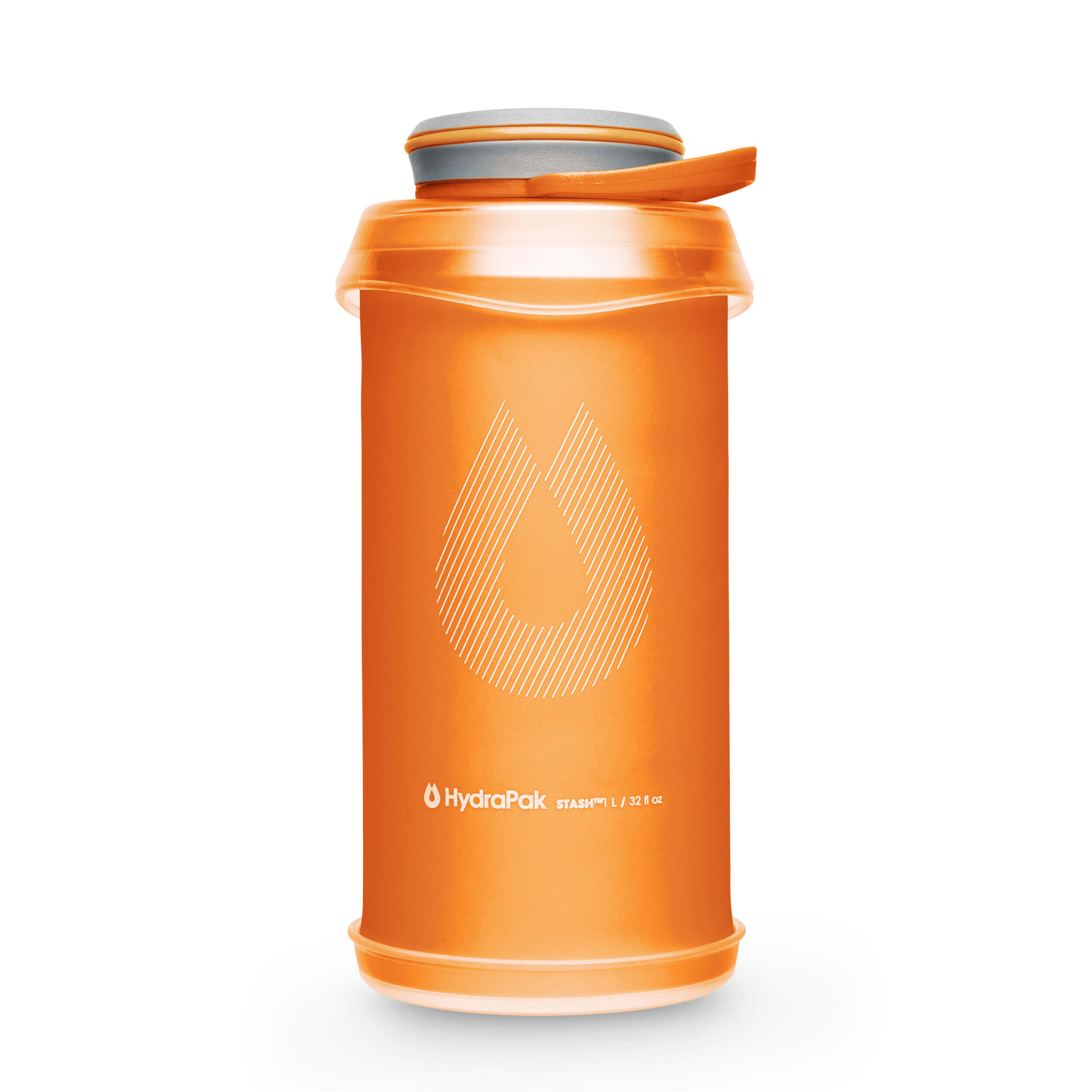 Hydrapak Stash Flexible Bottles Mojave-Orange