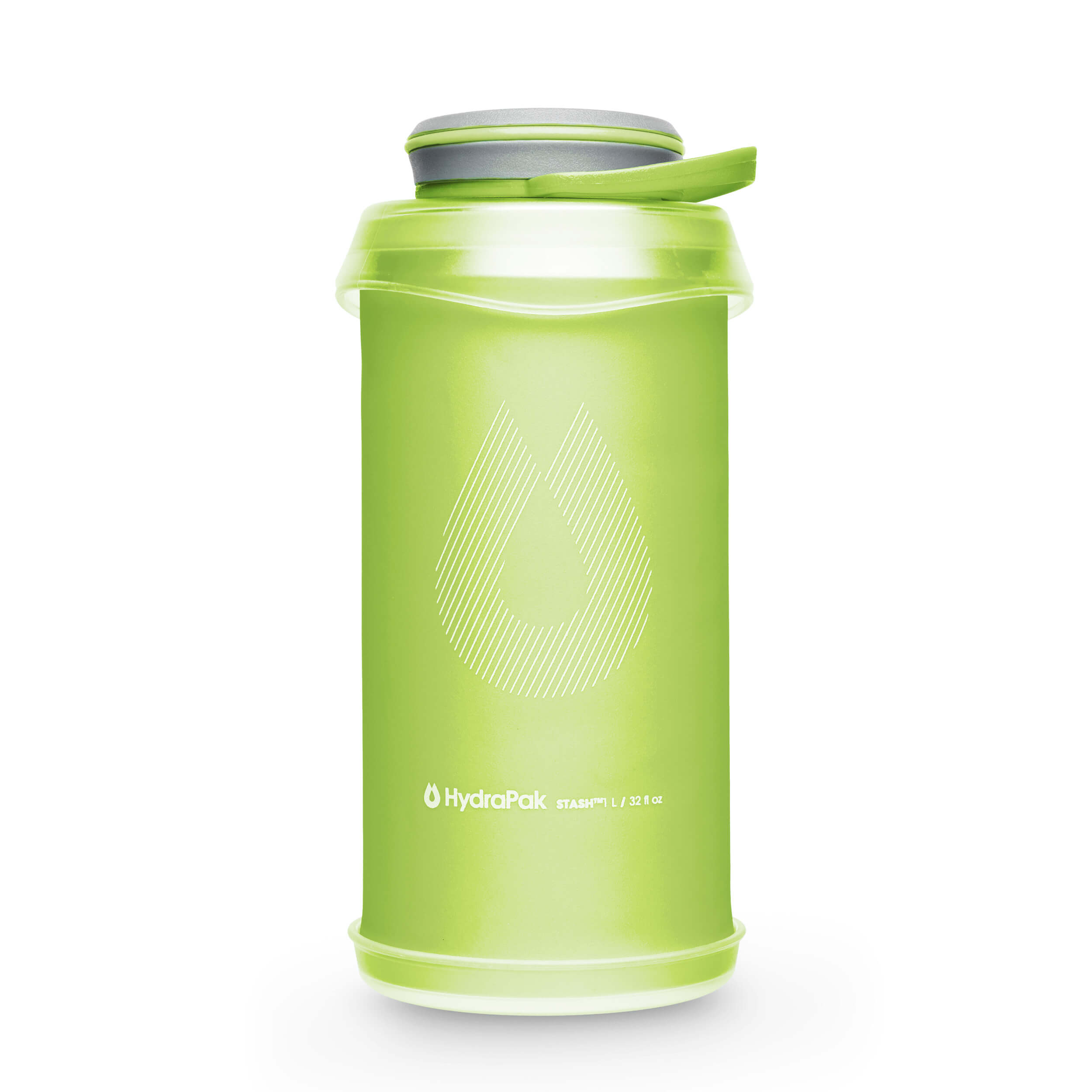 Hydrapak Stash Flexible Bottles Sequoia-Green