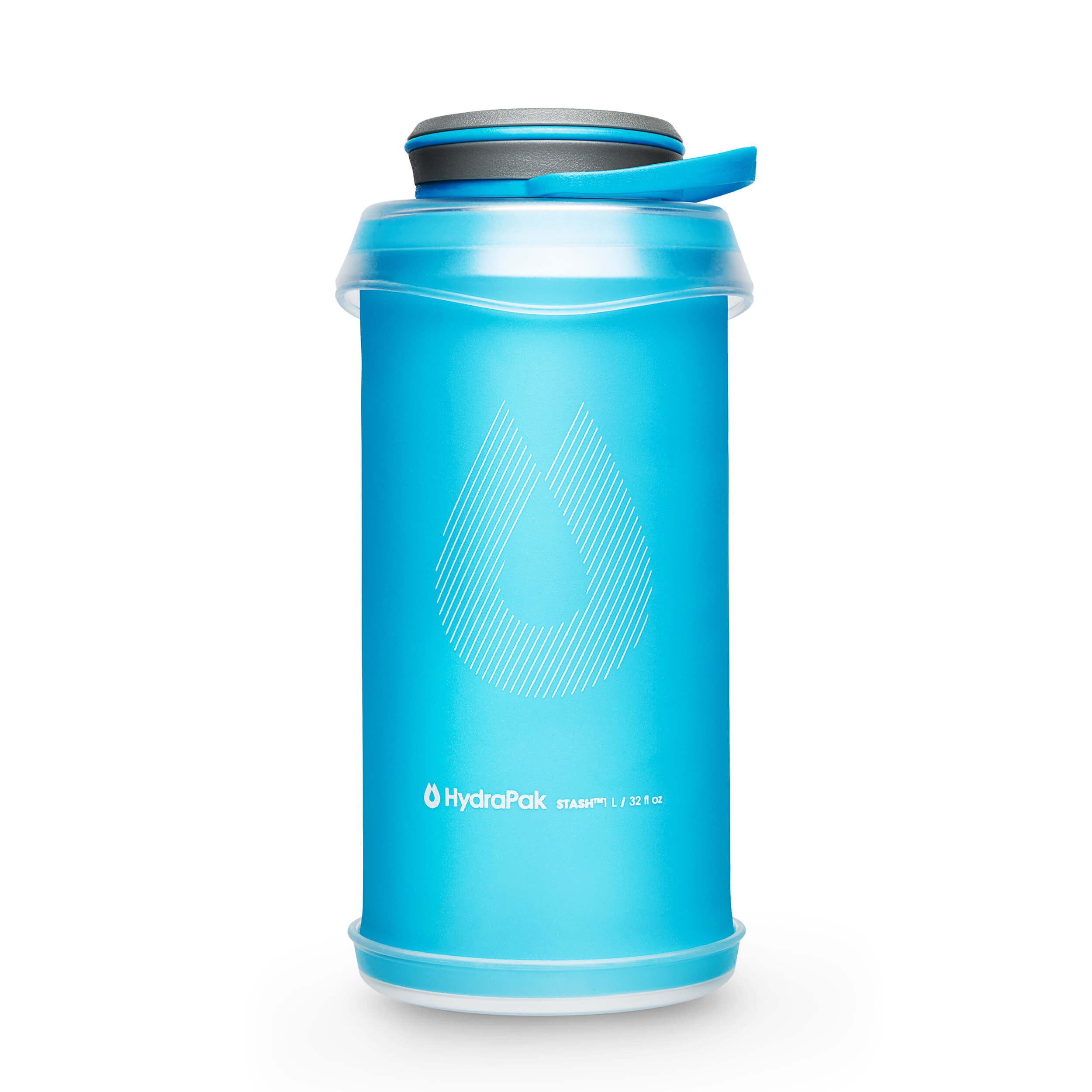 Hydrapak Stash Flexible Bottles Malibu-Blue