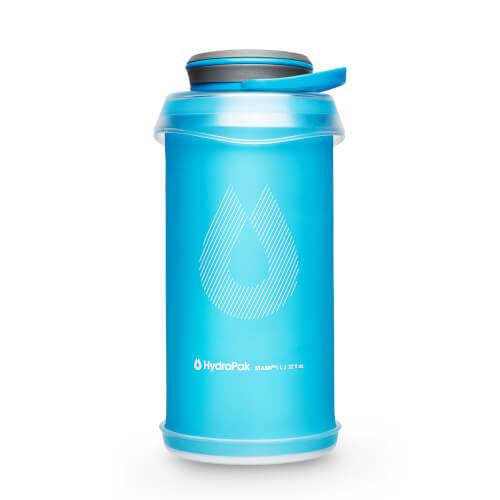 Hydrapak Stash Flexible Bottles Malibu-Blue