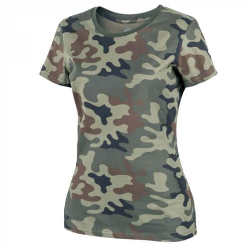 Helikon-Tex WOMEN'S T-Shirt - Cotton PL Woodland
