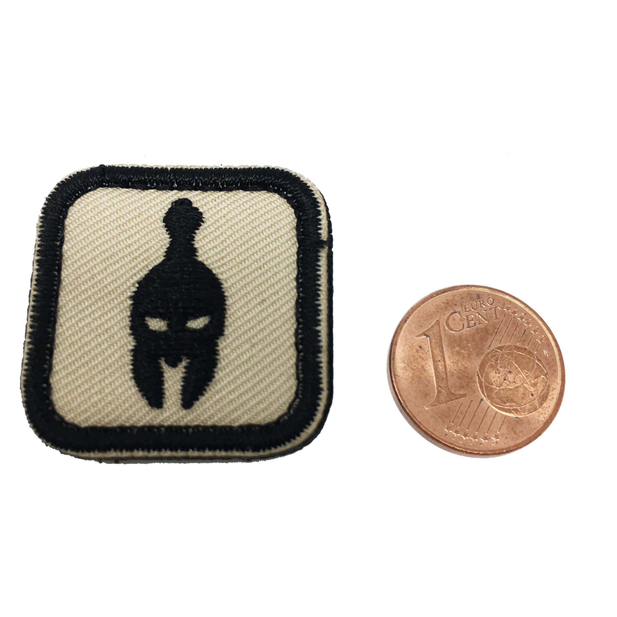 Molon Labe Helm Patch coyote/black