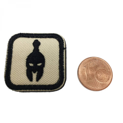 Molon Labe Helm Patch coyote/black