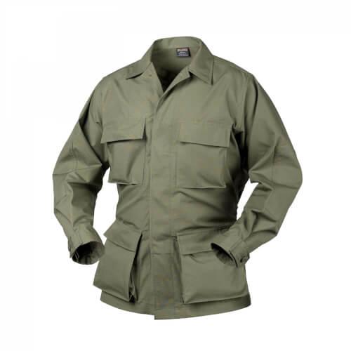 Helikon-Tex BDU Shirt - PolyCotton Ripstop olive green