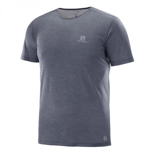 Salomon Cosmic Crew SS TEE M graphite XL