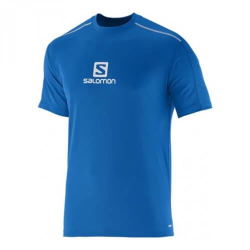 Salomon Stroll Logo T-Shirt blau