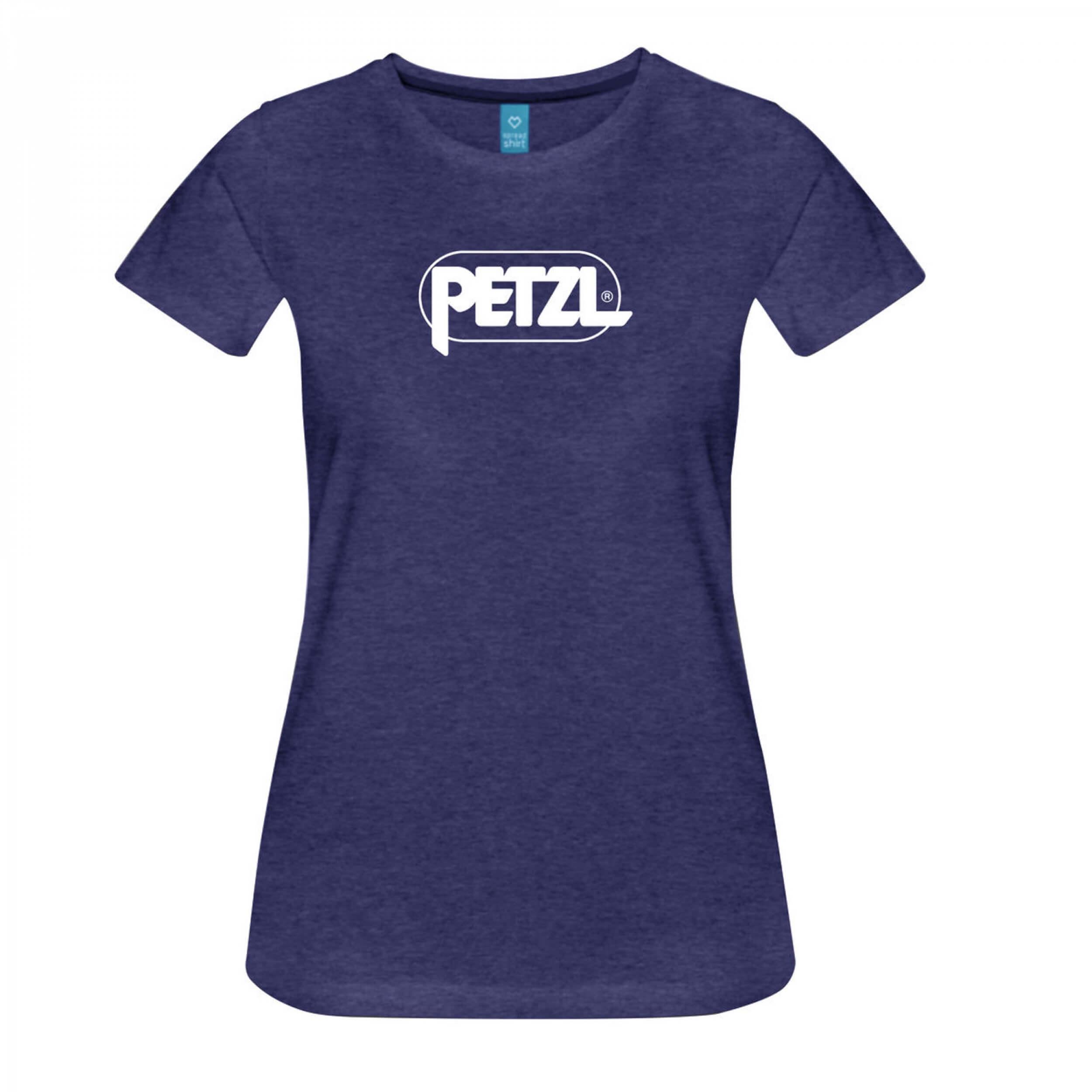 Petzl W's Eve T-Shirt lila meliert
