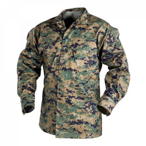 Helikon-Tex USMC Shirt - PolyCotton Twill USMC Digital Woodland