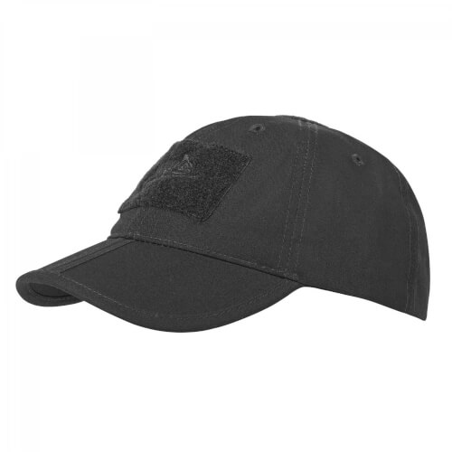 Helikon-Tex Baseball Folding Cap - PolyCotton Ripstop black