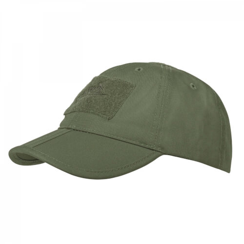 Helikon-Tex Baseball Folding Cap - PolyCotton Ripstop olive green