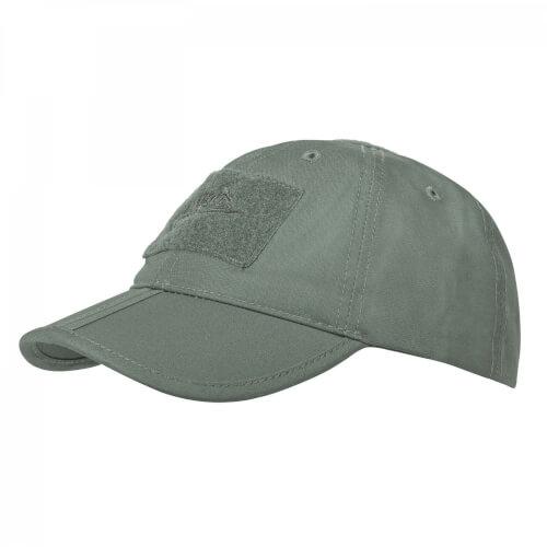 Helikon-Tex Baseball Folding Cap - PolyCotton Ripstop olive drab