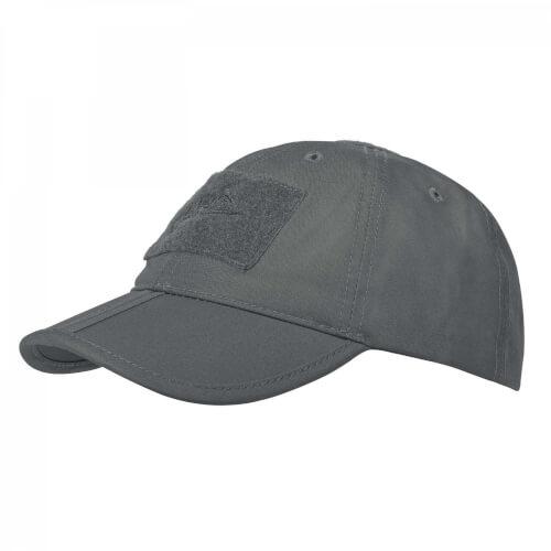 Helikon-Tex Baseball Folding Cap -  PolyCotton Ripstop shadow grey