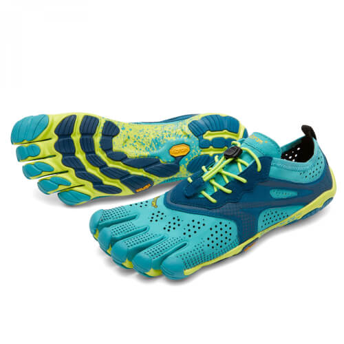 VIBRAM Fivefingers V-Run Women Teal/Navy 37 EUR