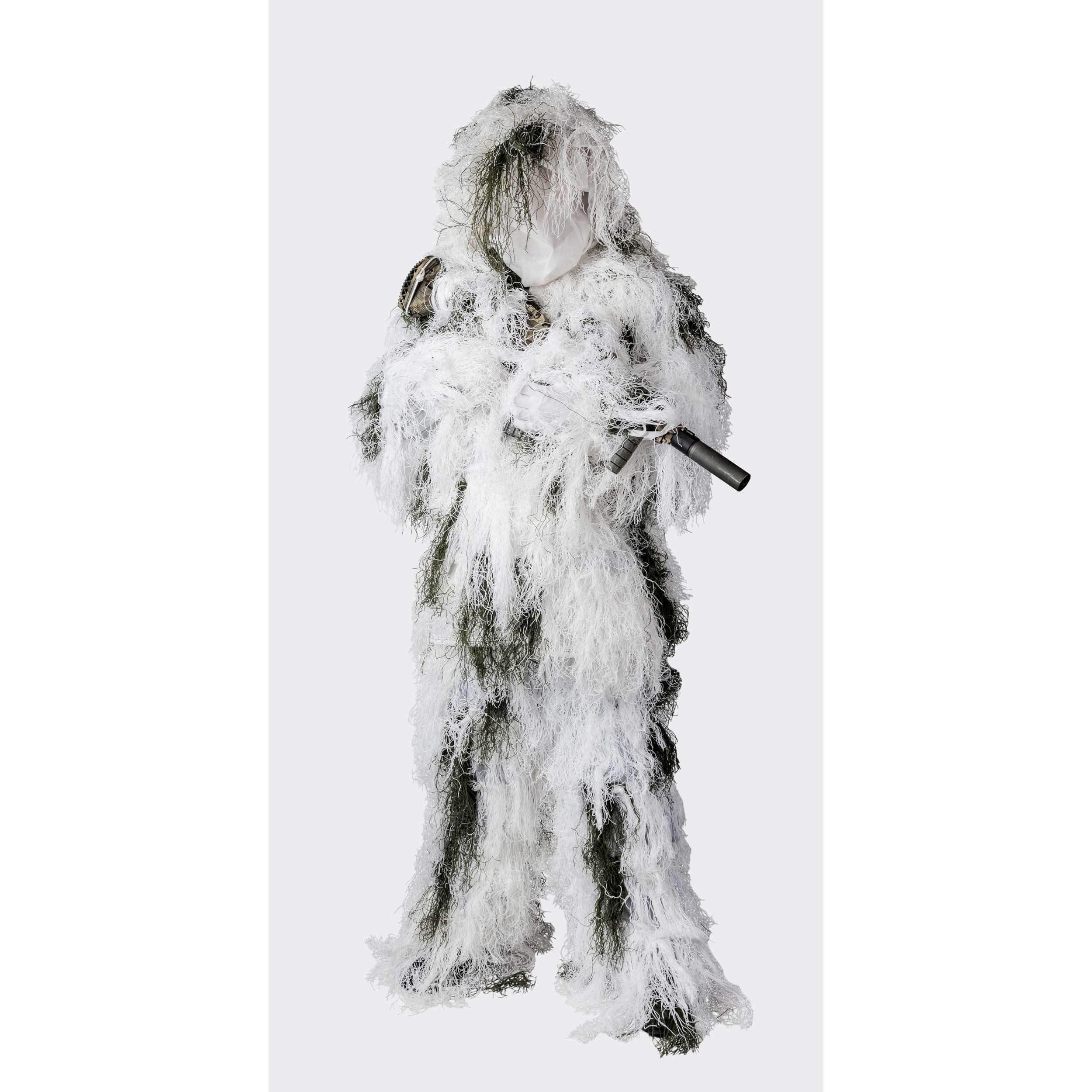 Helikon-Tex Ghillie Suit Tarnanzug - Snow Camo