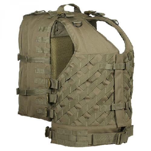 Voodoo Vanguard VestPack coyote tan