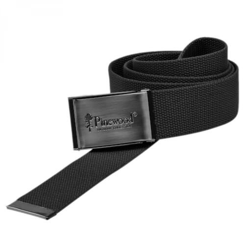 Pinewood Canvas Gürtel Black