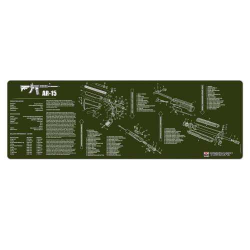 TEKMAT AR-15 Waffenreinigungsmatte 12x36 Zoll oliv
