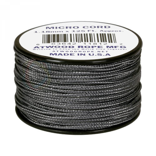 Atwood Rope MFG Micro Cord graphite