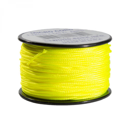 Atwood Rope MFG Micro Cord Neon Gelb
