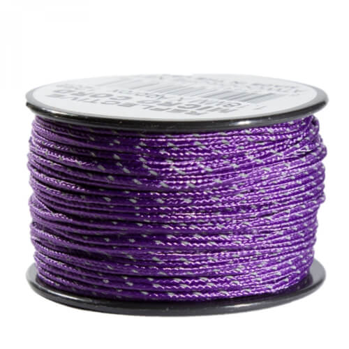 Atwood Rope MFG Micro Cord Reflective lila