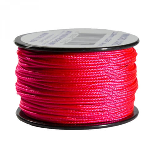 Atwood Rope MFG Micro Cord Neon Pink