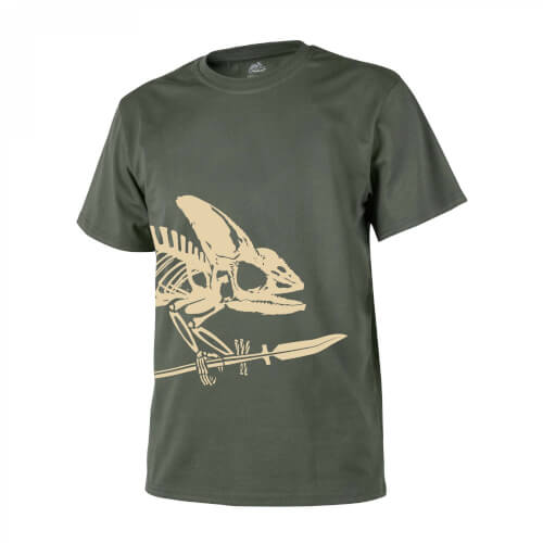 Helikon-Tex T-Shirt (Full Body Skeleton) - Olive Green