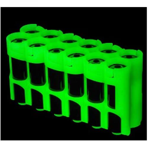 Storacell SlimLine Holds 4 AA Batteries 12-Pack moonshine