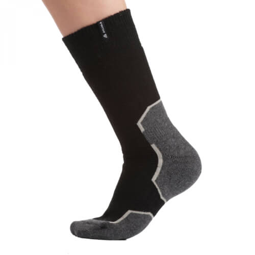 Aclima Warmwool Short Sock 1 Pair jet black