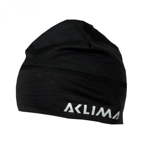 Aclima Lightwool Beanie jet black