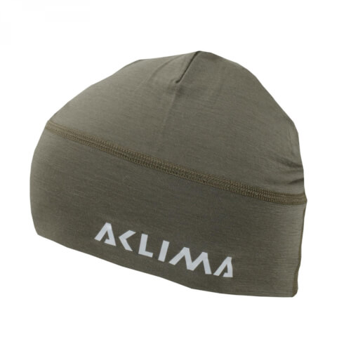 Aclima Lightwool Beanie Ranger Green