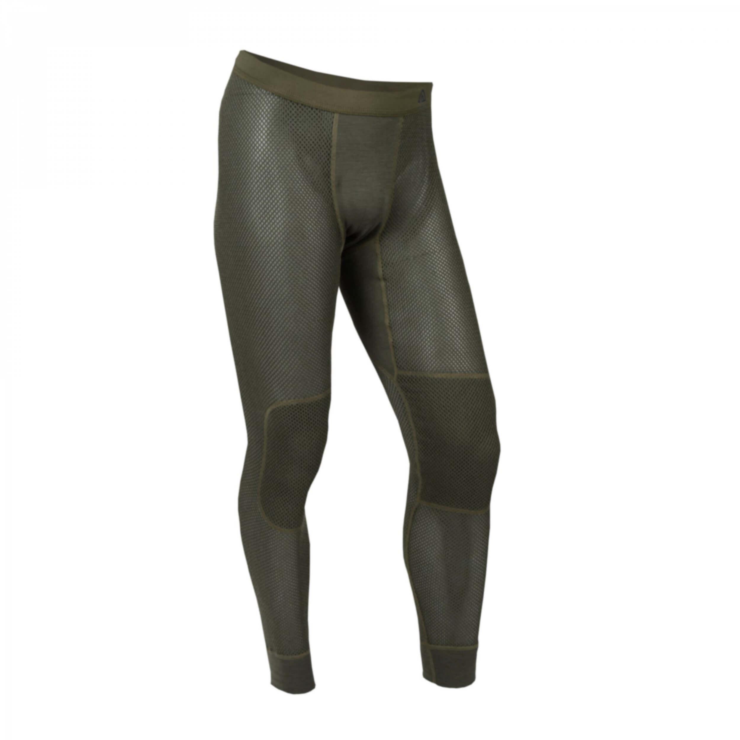 Aclima Woolnet Long Pants MAN olive night