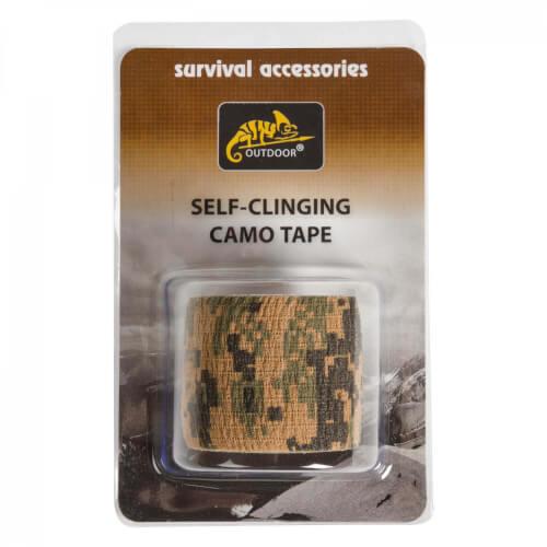 Helikon-Tex Self-Clinging Camo Tape - USMC Digital Woodland