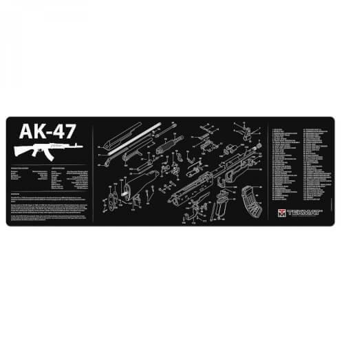 TEKMAT Ak-47 Waffenreinigungsmatte 12x36 Zoll
