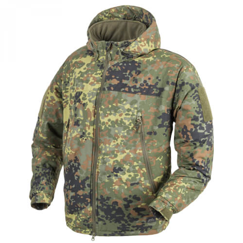Helikon-Tex LEVEL 7 Lightweight Winter Jacke - Climashield Apex 100g flecktarn