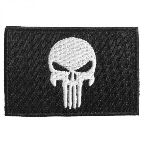 Punisher Totenkopf Patch