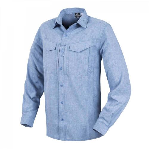 Helikon-Tex Defender Mk2 Gentleman Shirt - Melange Light Blue