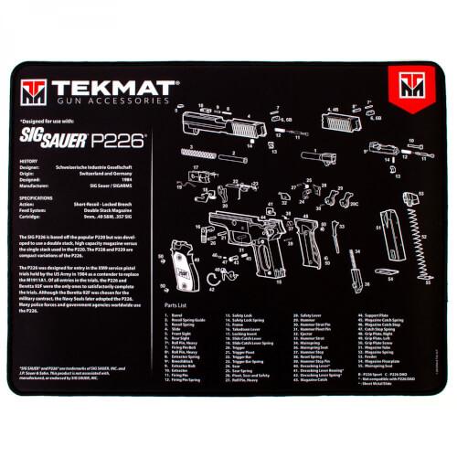 TEKMAT Sig Sauer P226 Ultra Premium Waffenreinigungsmatte 15x25 Zoll