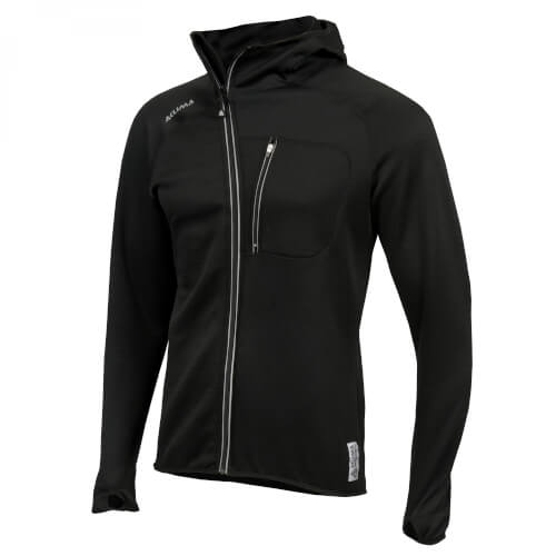 Aclima Woolshell Jacket w/ hood M Jet black