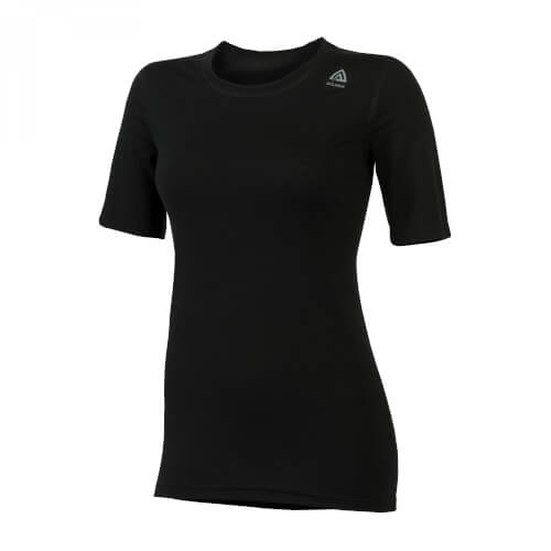 Aclima Lightwool T-Shirt Classic Women Jet Black