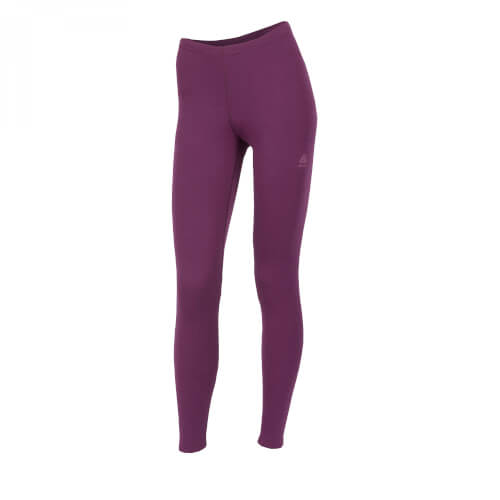 Aclima Warmwool Longs Women Grape Wine