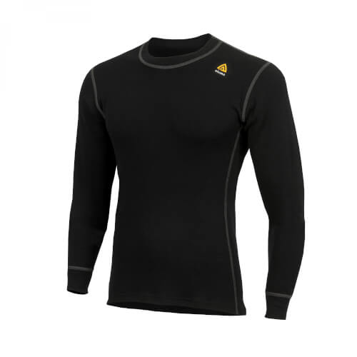 Aclima Warmwool Crewneck Man Jet Black