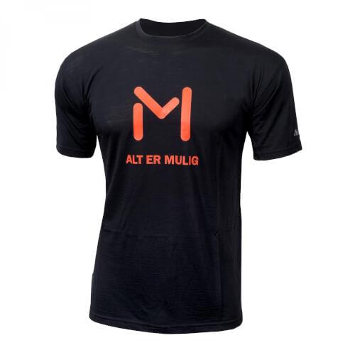 Aclima Lars Monsen Anárjohka T-shirt Jet Black