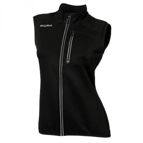 Aclima Woolshell Vest Damen Jet Black