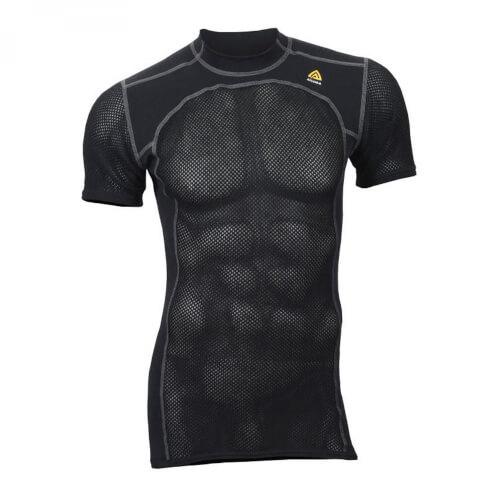 Aclima Woolnet T-Shirt Man Jet Black