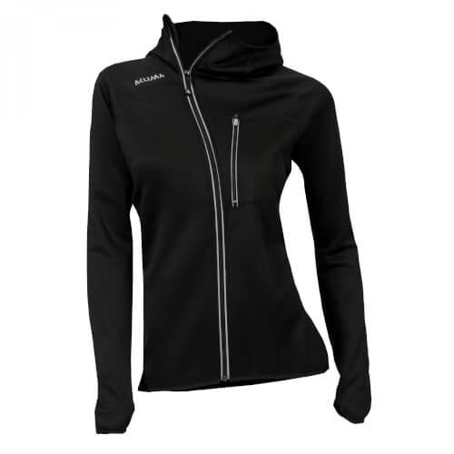 Aclima Woolshell Jacket/hood Damen Jet black