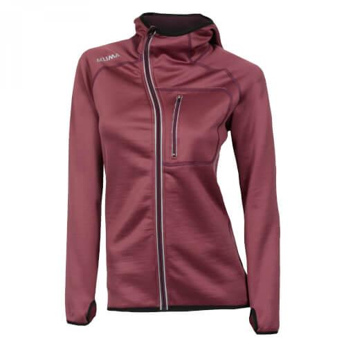 Aclima Woolshell Jacket/hood Damen Damson