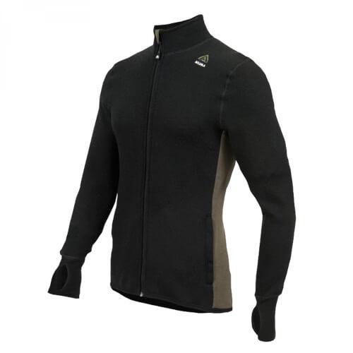 Aclima Hotwool Jacket Jet Black/Olive Night