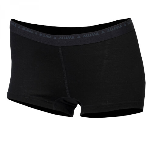 Aclima Lightwool Hipster Shorts Woman black
